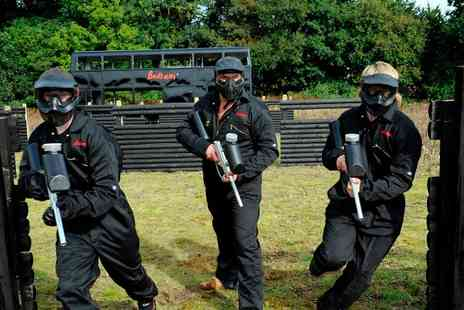 Bedlam Paintball - Paintball Group Experience  - Save 89%