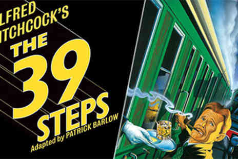 Red Letter Days  - The 39 Steps Tickets & 2 Course Meal for Two - Save 31%