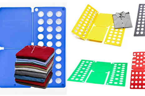 Jaoyeh Trading  - Magic Clothes Folder - Save 60%