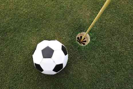UK Footgolf St Neots - 18 Holes of Footgolf Plus Drinks For Two - Save 45%