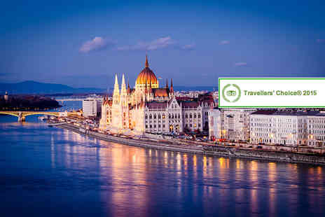 Blue Sea Holidays - Three night Budapest break in a business room including breakfast, Champagne and flights  - Save 21%