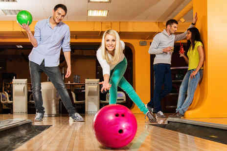 Matrix Superbowl  - Game of bowling and a hot dog each for six people  - Save 58%