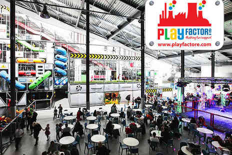 Play Factore - Play Centre Entry for Two Adults and Two Children - Save 0%