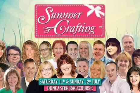 Summer Crafting - Entry to Summer Crafting with Afternoon For Two Adults - Save 0%