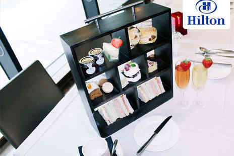 Hilton Liverpool - Afternoon Tea with a Glass of Prosecco Each for Two - Save 52%