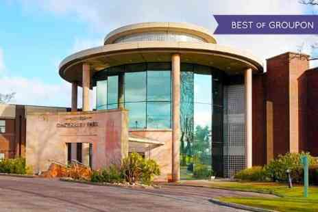 Daresbury Park - Overnight Stay For 2 With Wine and Spa Access  -  Save 50%