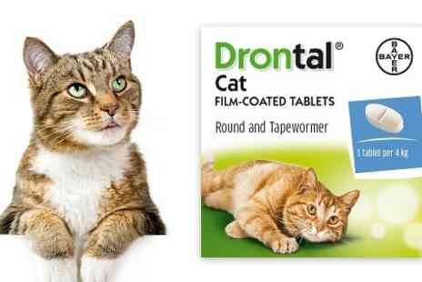 VetePet - Drontal Cat Worming Tablet Multi Packs With Free Delivery - Save 9%