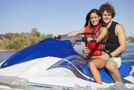 Lagoona Park jet ski - Shared Jet Bike or RIB Experience For Two - Save 29%