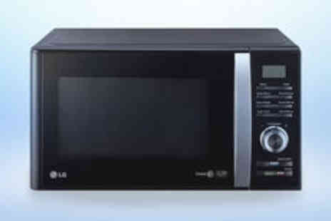 Crampton and Moore - LG MS2382B 23 litre microwave with iWave technology in black with FREE delivery - Save 0%