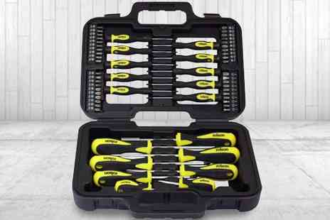 M&M Deals - Rolson 58pc Screwdriver Set - Save 52%