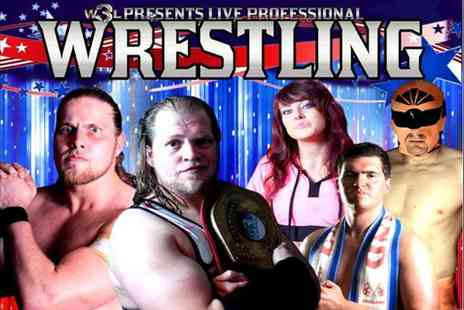 World Wide Wrestling League - Ticket to see the World Wide Wrestling League live  - Save 54%