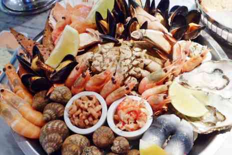 Chapmans Seafood Bar - Lunchtime Seafood Platter For Two - Save 64%