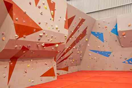 Sunderland Wall - Bouldering Taster Session and Hot Drink For One - Save 56%
