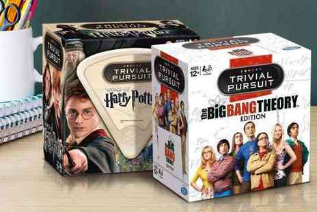 Divinity Fashion - Harry Potter or The Big Bang Theory Trivial Pursuit Game - Save 0%