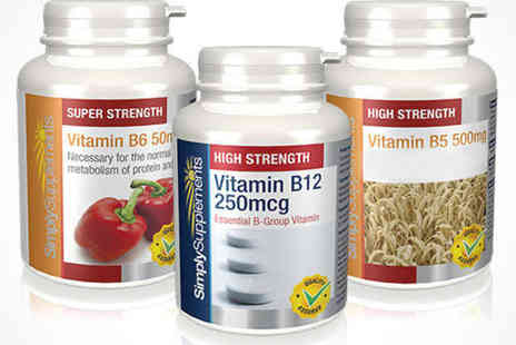 Vitamin B - Vitamin B  Bundle, Delivery Included - Save 51%