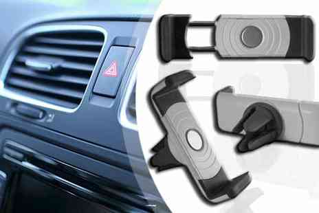 Click Wrap - Universal 360 Air Vent Smartphone Car Holder - Save 75%