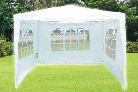All Boxed Up  - Large Garden Marquee Tent - Save 51%