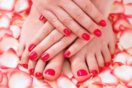 Unique Hair Lounge - Shellac manicure and shellac pedicure - Save 0%