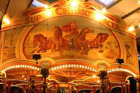 Dingles Fairground Heritage Centre - Entry to Dingles Fairground Heritage Centre for Two Adults- Save 48%