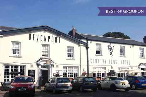 The Devonport Hotel - One or Two Nights stay For Two With Breakfast and Dinner - Save 0%