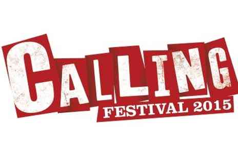 Live Nation - One Tickets to Calling Festival 2015  - Save 0%