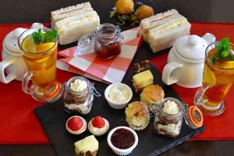 Cafe Grande - Afternoon Tea With Pimm  For Two - Save 0%