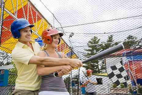 Universal Sports Arena - One Hour Batting Cage Session For Up to Four - Save 33%