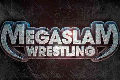 American Mega Slam Wrestling - Entry to American Megaslam Wrestling For One - Save 42%
