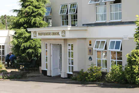 Best Western Yew Lodge Hotel - One night stay including an afternoon tea, Prosecco, spa access, breakfast  - Save 32%