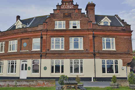 The George Hotel - Tranquil Norfolk Coast Escape with Wine and Dining Option - Save 37%