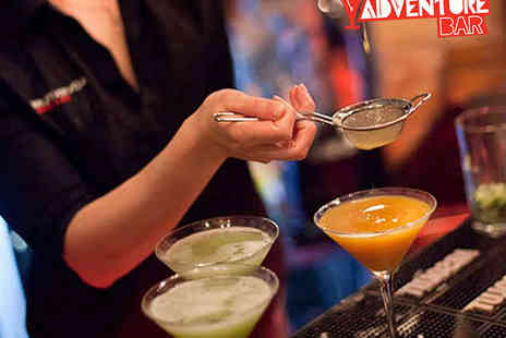Adventure Bar - £40 Spend on Food and Cocktails for Two - Save 53%