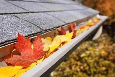Pro Cleaning Services - Full house professional gutter clean  - Save 56%