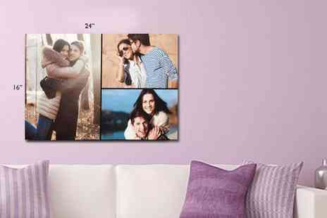 Great Photo Gifts -  Personalised A2 canvas print - Save 70%