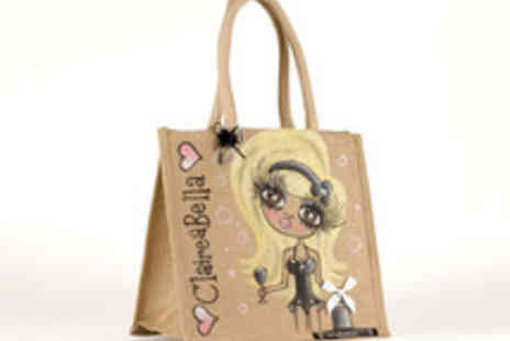 Toxic Fox - Personalised and Hand Painted Claireabella Bikini or Pet Jute Bag in a Choice of Sizes - Save 41%