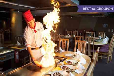 Benihana Head Office - Teppanyaki Dining Experience For Two - Save 50%