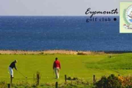 Eyemouth Golf Club - Day of Golf For Two - Save 68%