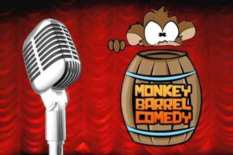 Monkey Barrel Comedy - Two Tickets to Friday Night with Monkey Barrel Comedy - Save 50%