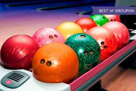 Kingpin Bowling - Three Bowling Games For Four - Save 60%