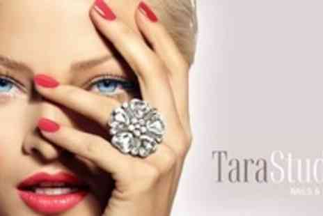 Tara Studio Nails and Beauty - Facial Treatment With Eyelash and Eyebrow Tint, Eyebrow Wax and Manicure - Save 75%