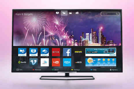 Electrical Experience - Philips 48PFS5709 48-inch Smart LED TV with five year guarantee plus FREE delivery - Save 0%