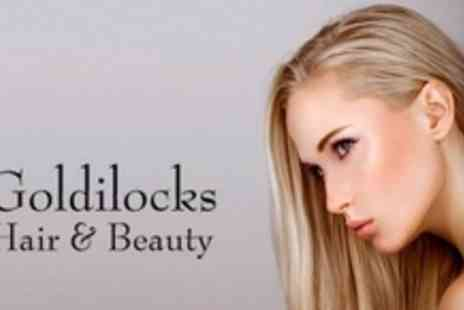 Goldilocks Hair and Beauty - Full Head Colour or Half Head Highlights With Cut and Blow Dry - Save 65%