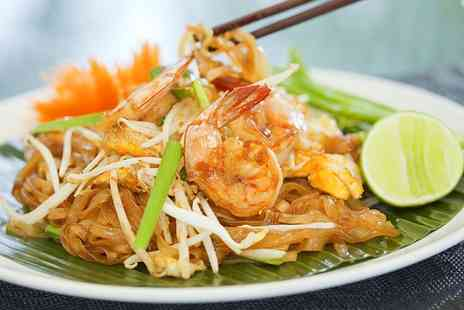 Thai Brasserie -  Two Course Lunch For Two - Save 60%