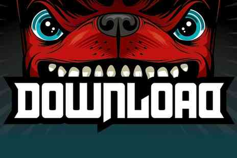 Live Nation - Tickets to Download Festival Day   - Save 0%