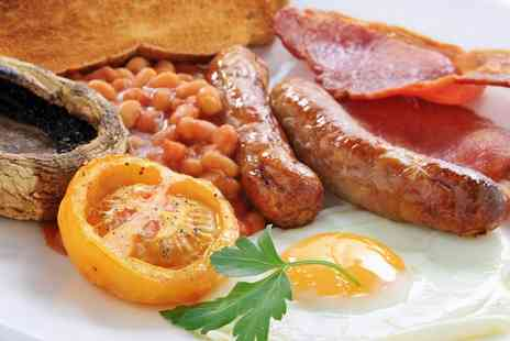 Foxys Deli and Cafe - Full English or Vegetarian Breakfast - Save 0%