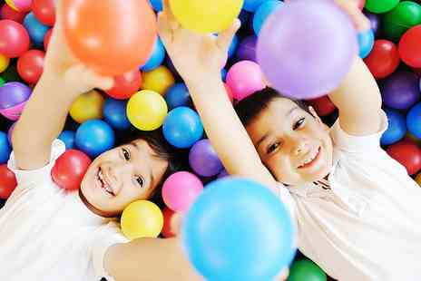 Oceans of Fun - Entry to Soft Play For Two Kids With Drinks - Save 0%