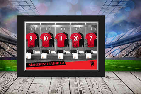 UR in the Paper - Personalised football dressing room or manager photo in a presentation folder  - Save 47%