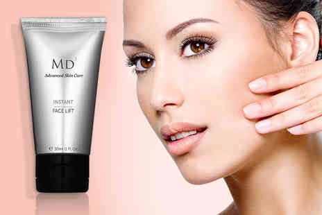 Look Good Feel Fabulous -  30ml of MD3 Instant Face Lift  cream - Save 78%