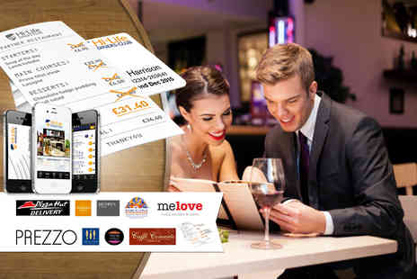 Hi-Life Diners Club - Six month Hi Life Diners Club 2 for 1 Classic digital membership card Plus DELIVERY INCLUDED - Save 94%