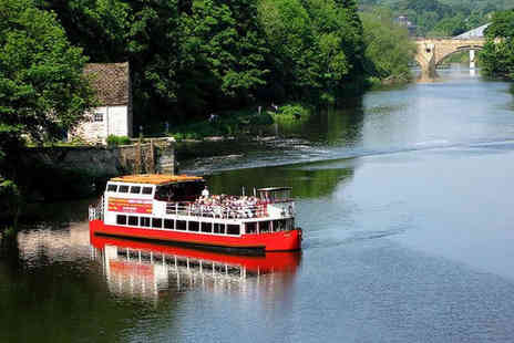 Prince Bishop River Cruiser - Hour Long Durham River Cruise for Two Adults  - Save 50%