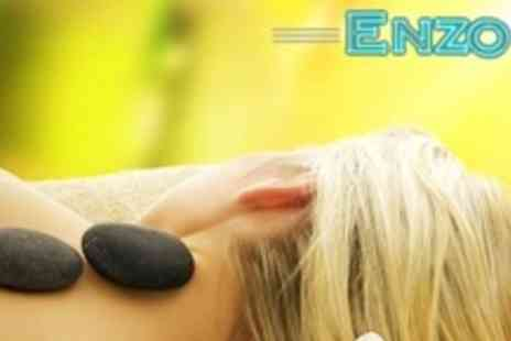 Enzo - One Hour Hot Stone or Swedish Massage - Save 68%